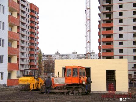 Новости строительства ж/д по пр.Тракторостроителей, 94-Б, февраль 2010 г.: