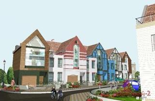 «Жилстрой-2» приступил к строительству жилого комплекса таунхаусов «Журавлевская Слобода»