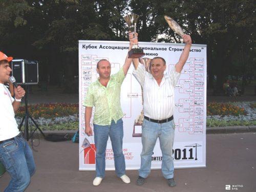 «Жилстрой-2» выиграл Кубок Ассоциации «Региональное строительство» по домино