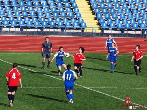 Команда «Жилстрой-2» сыграла первый матч в чемпионате в Чемпионате Украины среди женщин