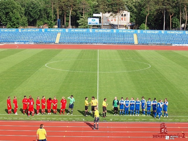 Команда «Жилстрой-2» сыграла в третьем туре чемпионата Украины по футболу среди женщин