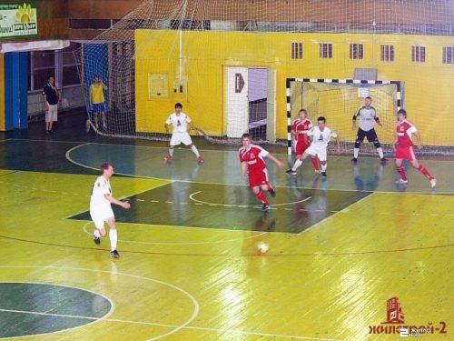 Команда по мини-футболу «Жилстрой-2» вышла в финал Суперлиги XXI Кубка ФК «Универ»