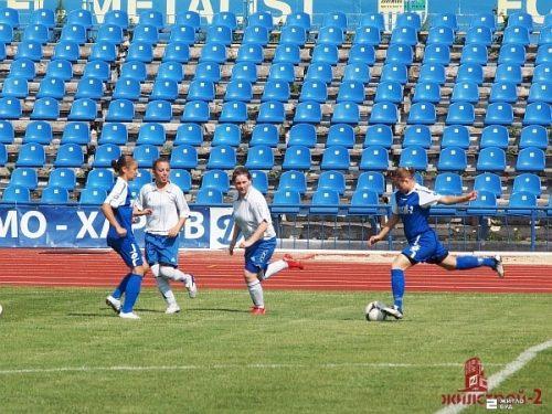 Команда «Жилстрой-2» сыграла в 6-м туре чемпионата Украины по футболу среди женщин