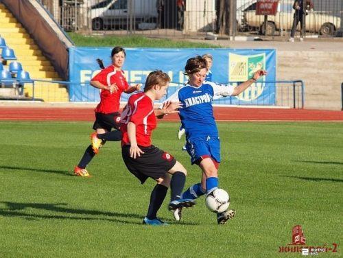 Команда «Жилстрой-2» выиграла матч 8-го тура чемпионата Украины по футболу среди женщин