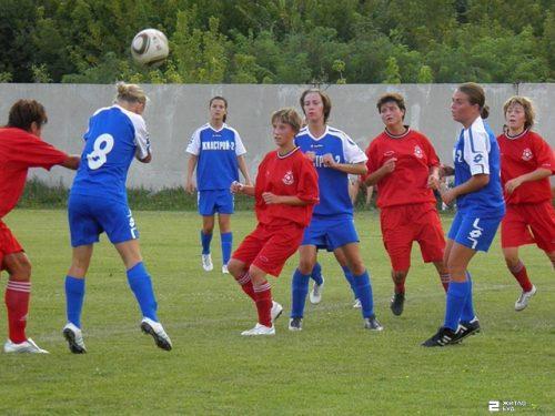 Команда «Жилстрой-2» сыграла матч 10-го тура чемпионата Украины по футболу среди женщин