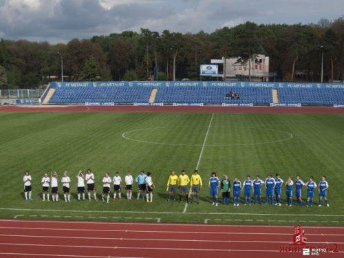 Команда «Жилстрой-2» сыграла матч 12-го тура чемпионата Украины по футболу среди женщин