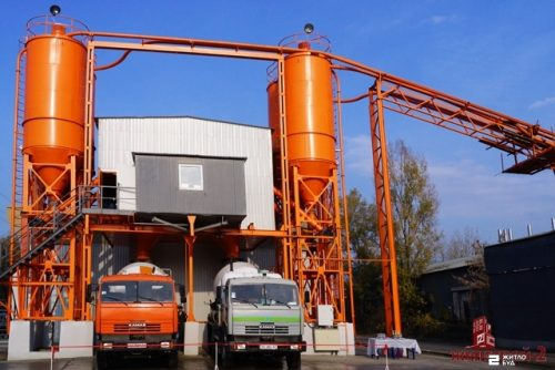 «Жилстрой-2» ввёл в эксплуатацию новый бетонно-смесительный узел