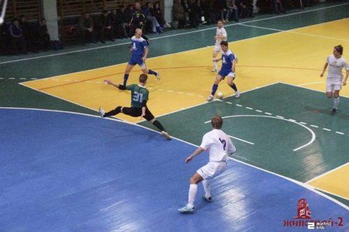 Команда «Жилстрой-2» сыграла в полуфинале суперлиги XXII областного Кубка ФК «Универ» по футзалу