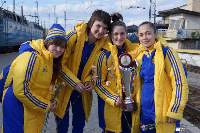 Четыре игрока ФК «Жилстрой-2» в составе молодежной женской сборной Украины сыграли в международном турнире «Кубанская весна»
