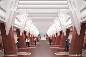 «Жилстрой-2» выполняет строительство двух выходов станции метро «Победа»