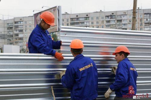 «Жилстрой-2» начал строительство подземных переходов к станции метро «Героев Труда»