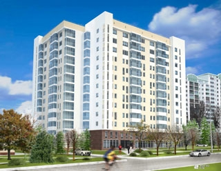«Жилстрой-2» завершает возведение здания жилого комплекса по пр. Маршала Жукова, 18-А