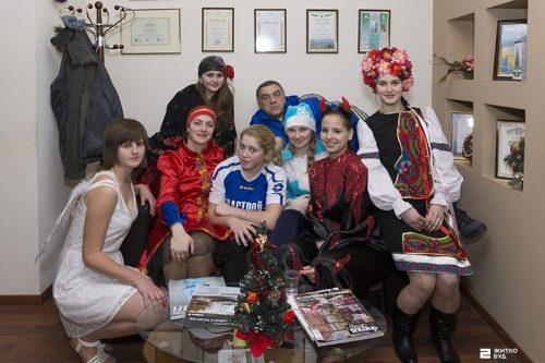 Щедривки футбольной команды «Жилстрой-2»