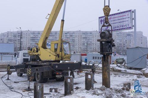 «Жилстрой-2» продолжает строительство переходов к метро «Героев Труда»