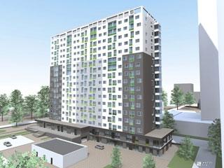 «Жилстрой-2» возводит 6-й этаж 2-й секции ЖК «Оптима»