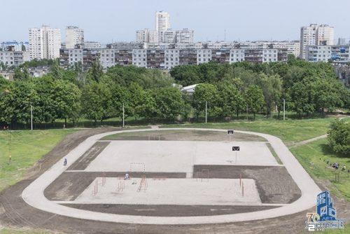 «Жилстрой-2» построил стадион для жителей микрорайона на Садовом проезде
