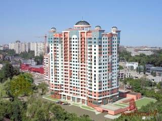 Продолжаются внутренние работы в ЖК «Дом с ротондами» по ул. Сухумской
