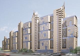 Возводится 9-й этаж 1-й секции ЖК «Павловский квартал»