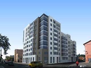 Возводится 6-й этаж жилого дома «Подольский»