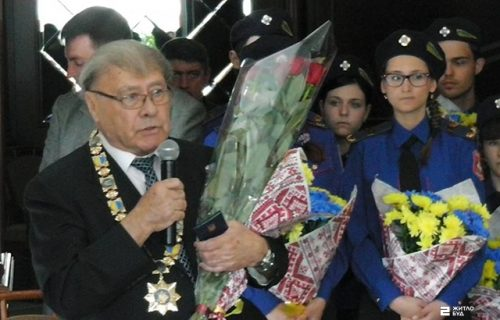 Юрий Кроленко награжден общественным знаком отличия ИСПИ