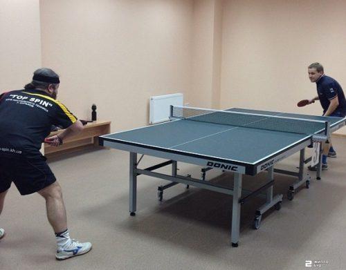 «Жилстрой-2» выступил спонсором Клуба настольного тенниса «Тop-Spin»