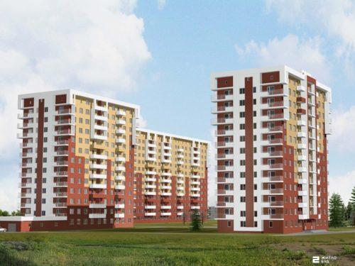 «Жилстрой-2» реализует 1-комнатные квартиры на 1-м этаже дома №1 ЖК «Садовый»