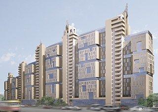 Возводится 14-й этаж 1-й секции ЖК «Павловский квартал»
