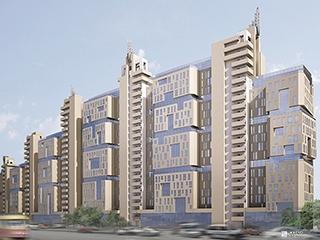 Возводится 19-й этаж 1-й секции ЖК «Павловский квартал»