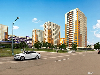 Продолжается строительство ЖК «Меридиан» на Северной Салтовке