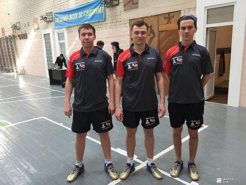 Победный дебют команды «Жилстрой-2» по настольному теннису