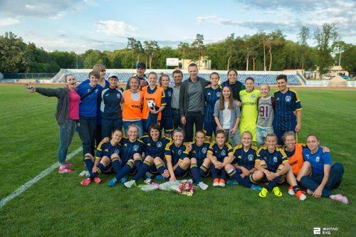 «Жилстрой-2» установил рекорд в высшей лиге женского футбола Украины!