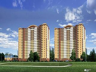 Возводится 19-й этаж 2-й секции ЖК «Дуэт» на Алексеевке