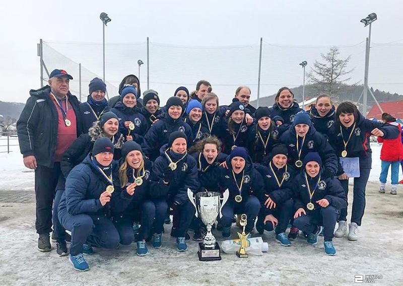 «Жилстрой-2» – чемпион VII Всеукраинских зимних соревнований по футболу среди женских команд!