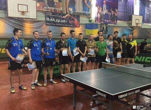 Команда «Жилстрой-2» по настольному теннису выиграла Клубный чемпионат Украины