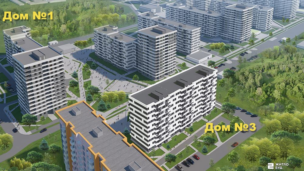 Начато резервирование квартир в доме №3 (секции Г и Г2) ЖК «ПРОЛІСОК»!