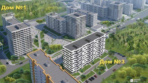 Открыты продажи квартир в доме №3 (секции Г и Г2) ЖК «ПРОЛІСОК»!