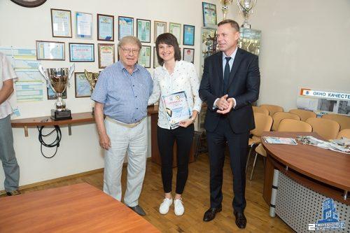 Команда «Жилстрой-2» награждена серебряными медалями Чемпионата Украины-2017/2018