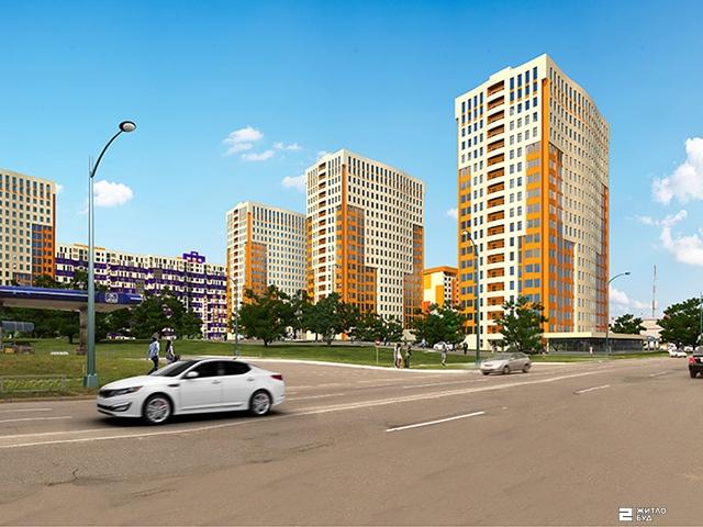 Продолжается строительство четырех секций ЖК «МЕРИДИАН»