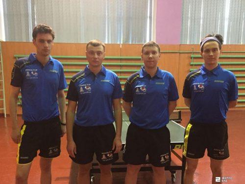 Команда «Жилстрой-2» по настольному теннису вышла в высшую лигу чемпионата Украины!
