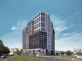 Продолжается строительство 1-й секции МФК «МАНХЭТТЕН»