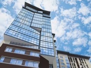 Возводится 5-й этаж 1-й секции ЖК «КРИСТАЛЛ»