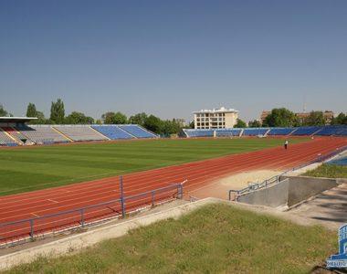 Реконструкція стадіону «Динамо», вул. Динамівська, 3, 1971 p.