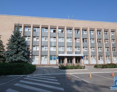 Будівля Дзержинської районної адміністрації, пр. Леніна, 17-А, 1974 р.