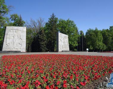 Меморіальний комплекс Слави, Лісопарк, 1977 р.