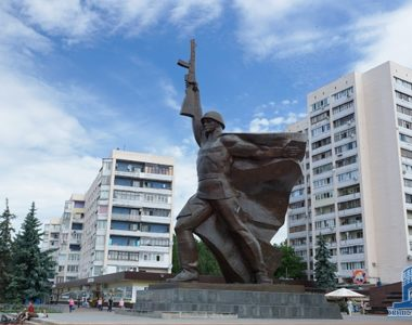Пам'ятник Солдату, вул. 23 Августа, 1981 р.