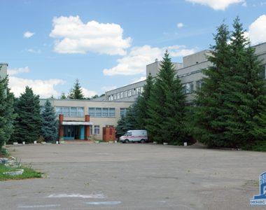 Обласний дитячий туберкульозний клінічний санаторій, вул. Архітекторів, 40, 1986 р.