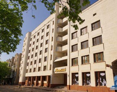 Готель «Київська», вул. Культури, 4, 1988 р.