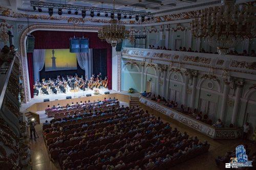 Торжественный концерт в честь Дня строителя Украины