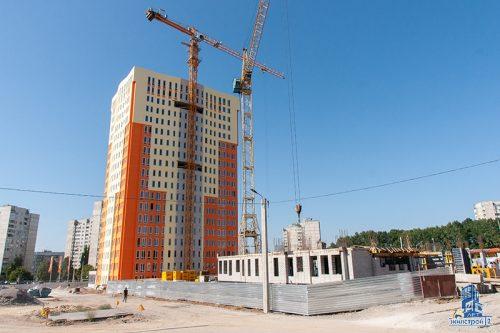Продолжается строительство ЖК «МЕРИДИАН»
