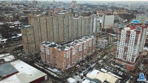"""В шестой секции ЖК """"Павловский квартал"""" установлено перекрытие над четвертым этажом"""